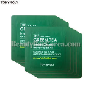 [mini]TONYMOLY The Chok Chok Green Tea Intense Cream 1ml*10ea