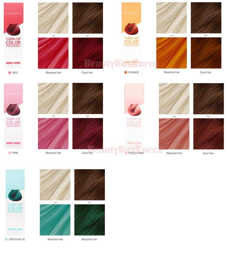 Beauty Box Korea April Skin Turn Up Color Treatment 60ml